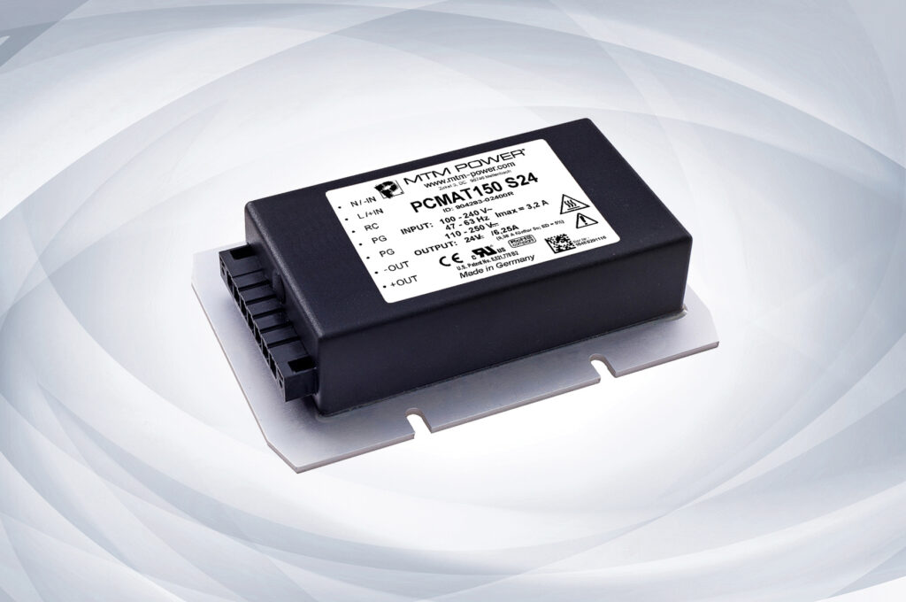 150 W Power Supplies for Railway Applications