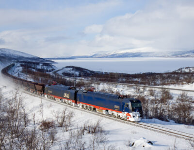 Hitachi Rail to Deploy Its ERTMS Level 2 Technology on Sweden's Malmbanen Line