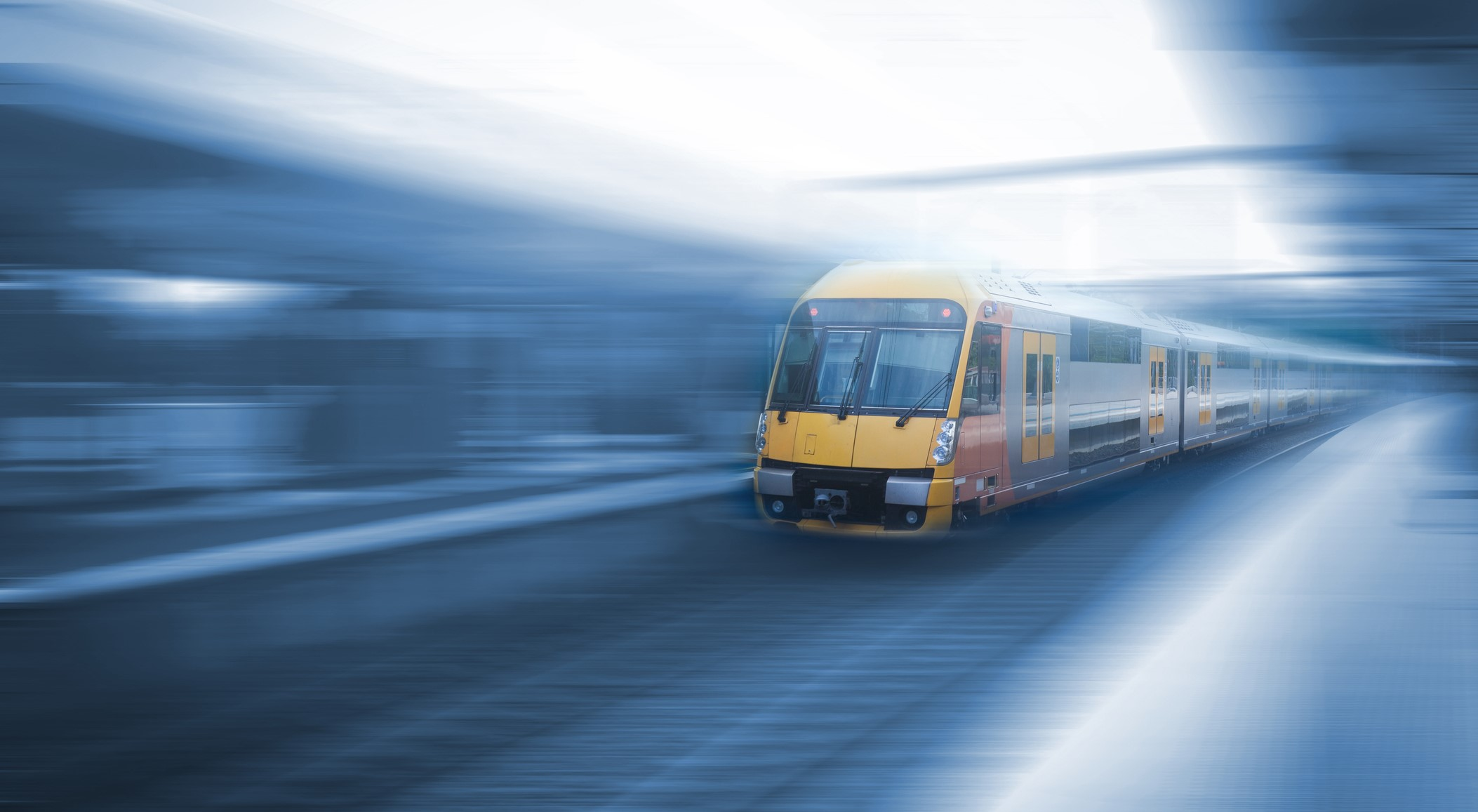 A train in Sydney