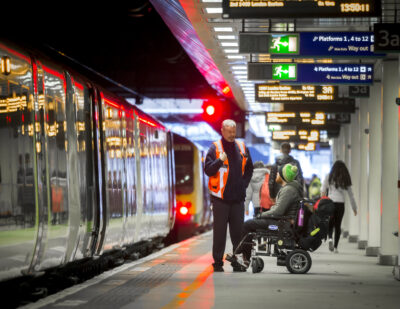 Railway Staff in Britain Receive Disability Awareness and Equality Training