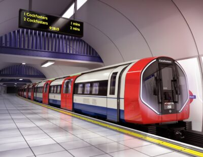 Detailed Design of Piccadilly Tube Trains Revealed