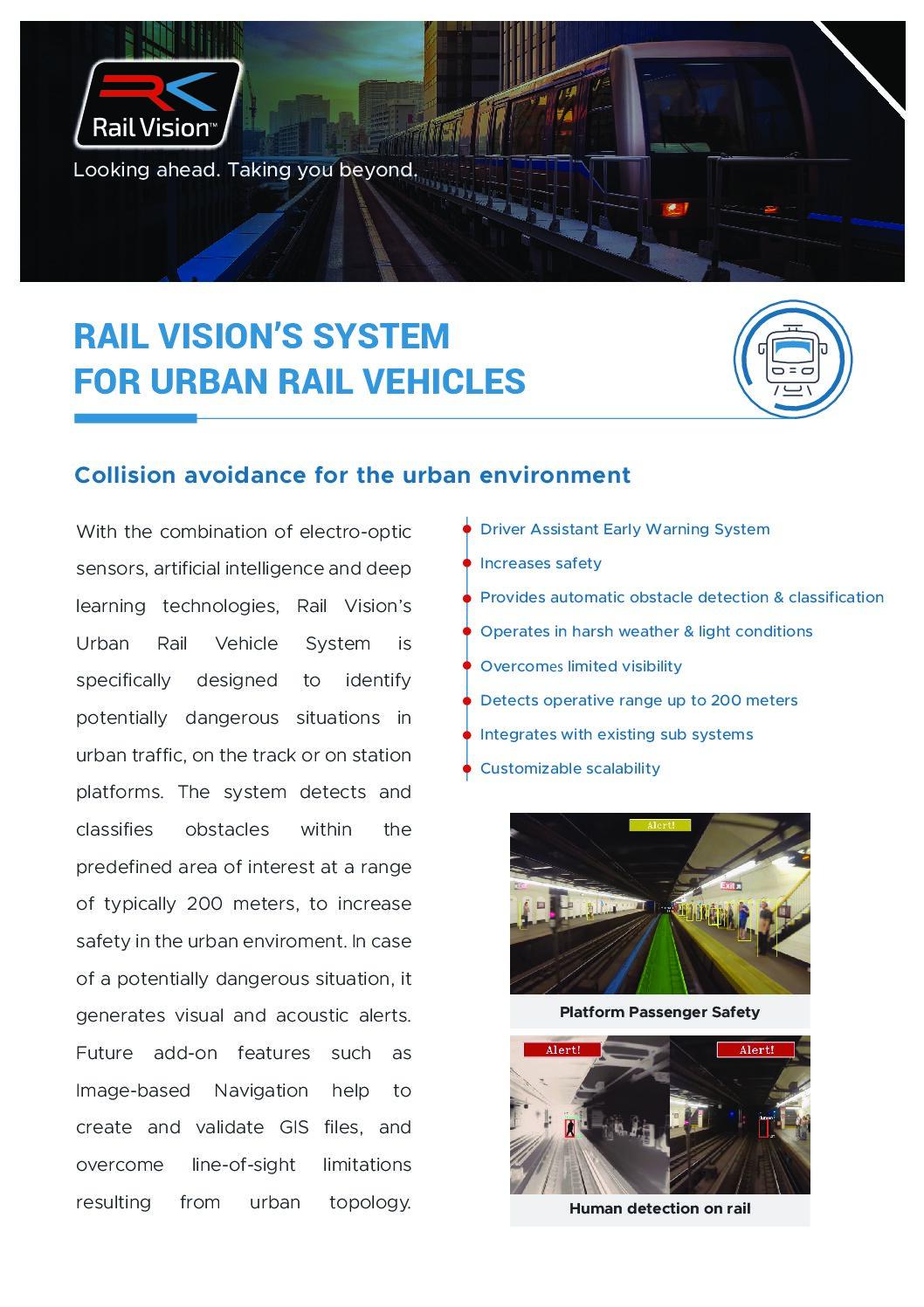 Rail Vision LRV Fact Sheet