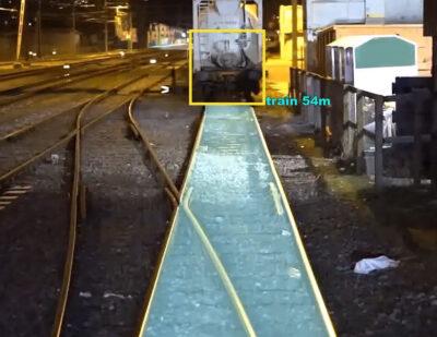 Rail Vision Train Detection