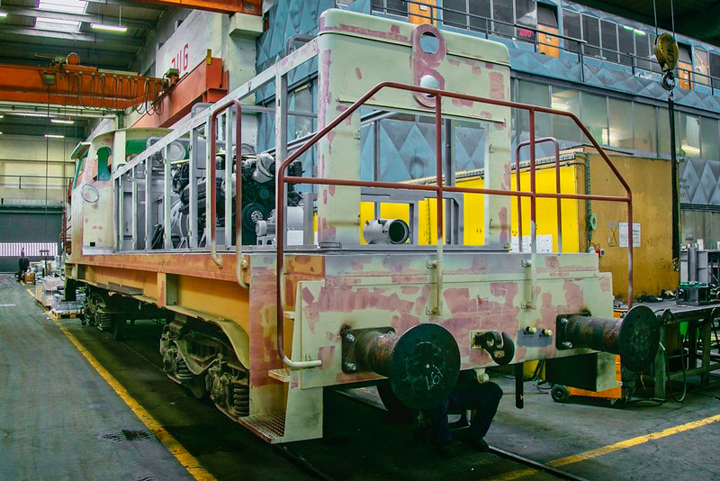 Modernisation of diesel locomotive in SŽ – VIT's Maribor Center