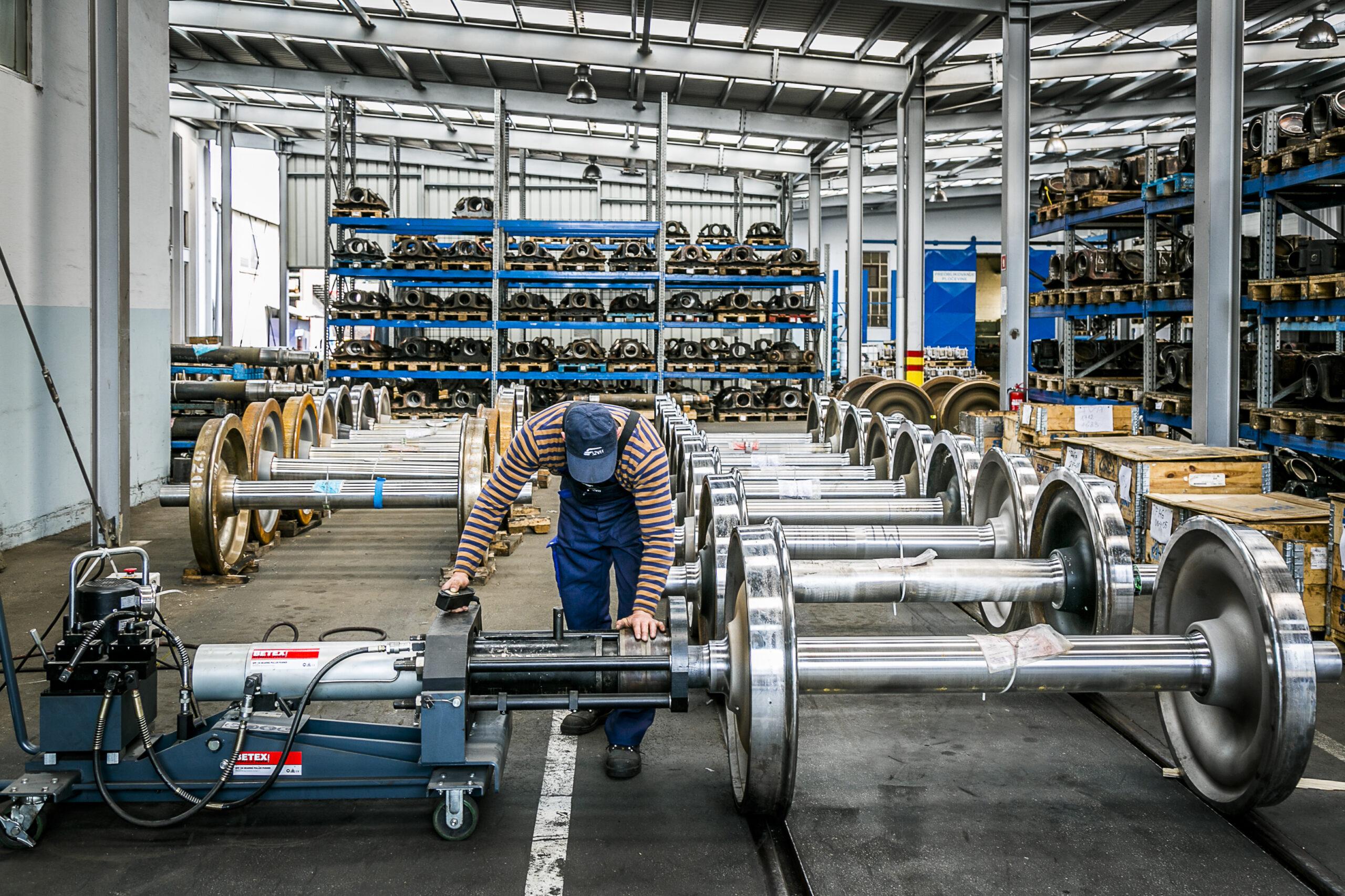 Maintaining wheelsets in SŽ – VIT's Ptuj Center