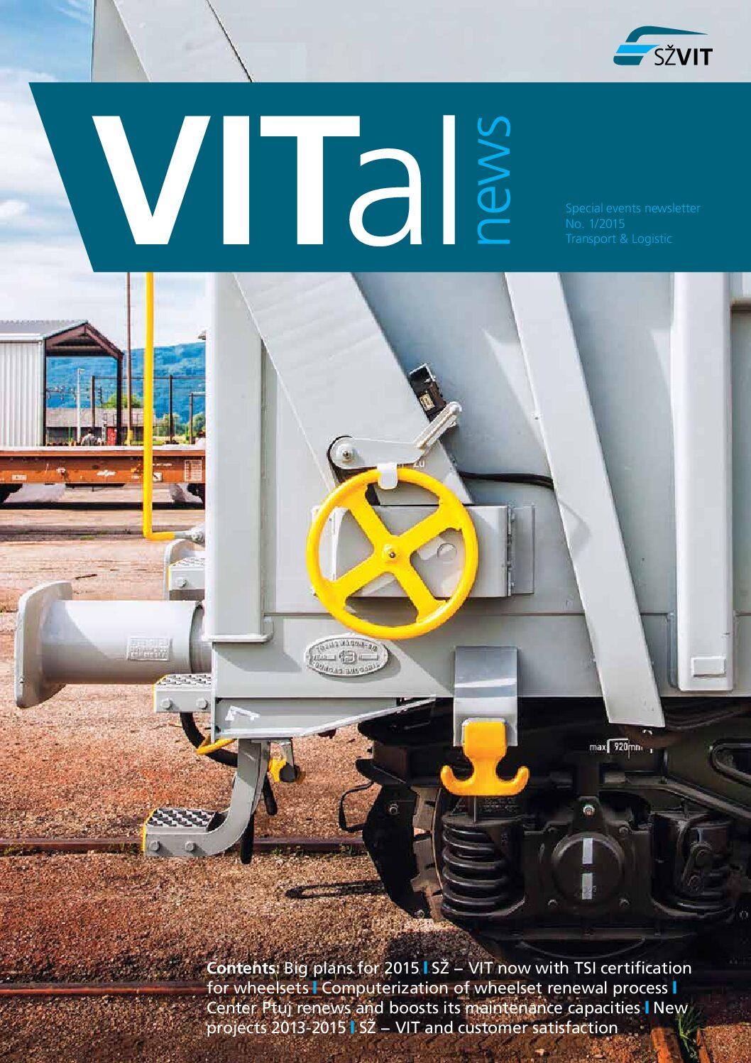 SŽ − VIT: VITal News 2015