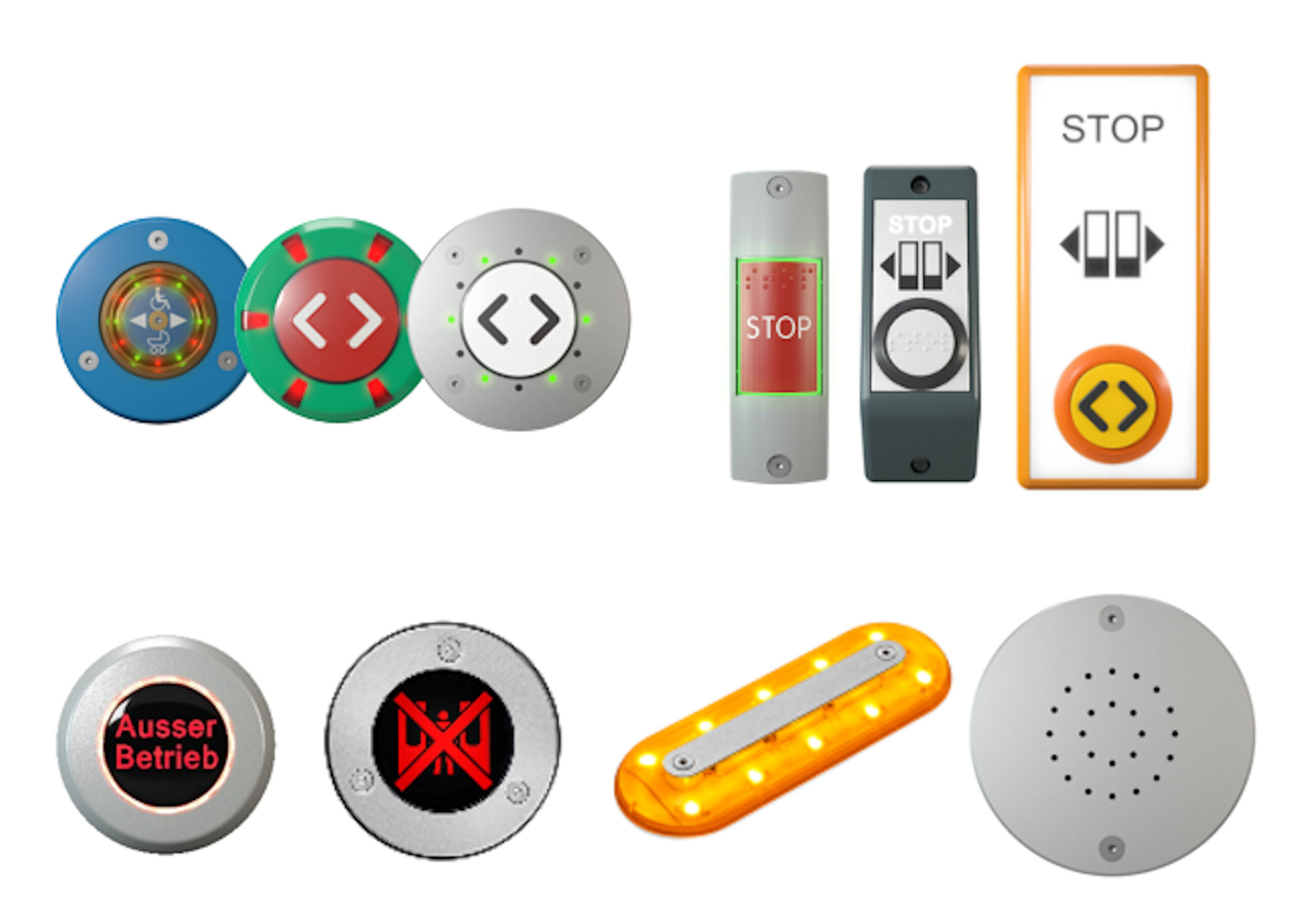 Customized Push-Buttons, Sounders and Signal Lights