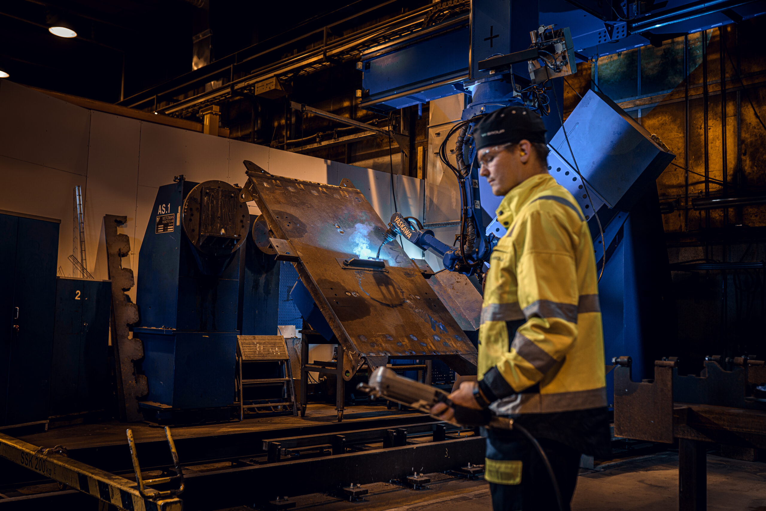 Reprogramming of the welding robot