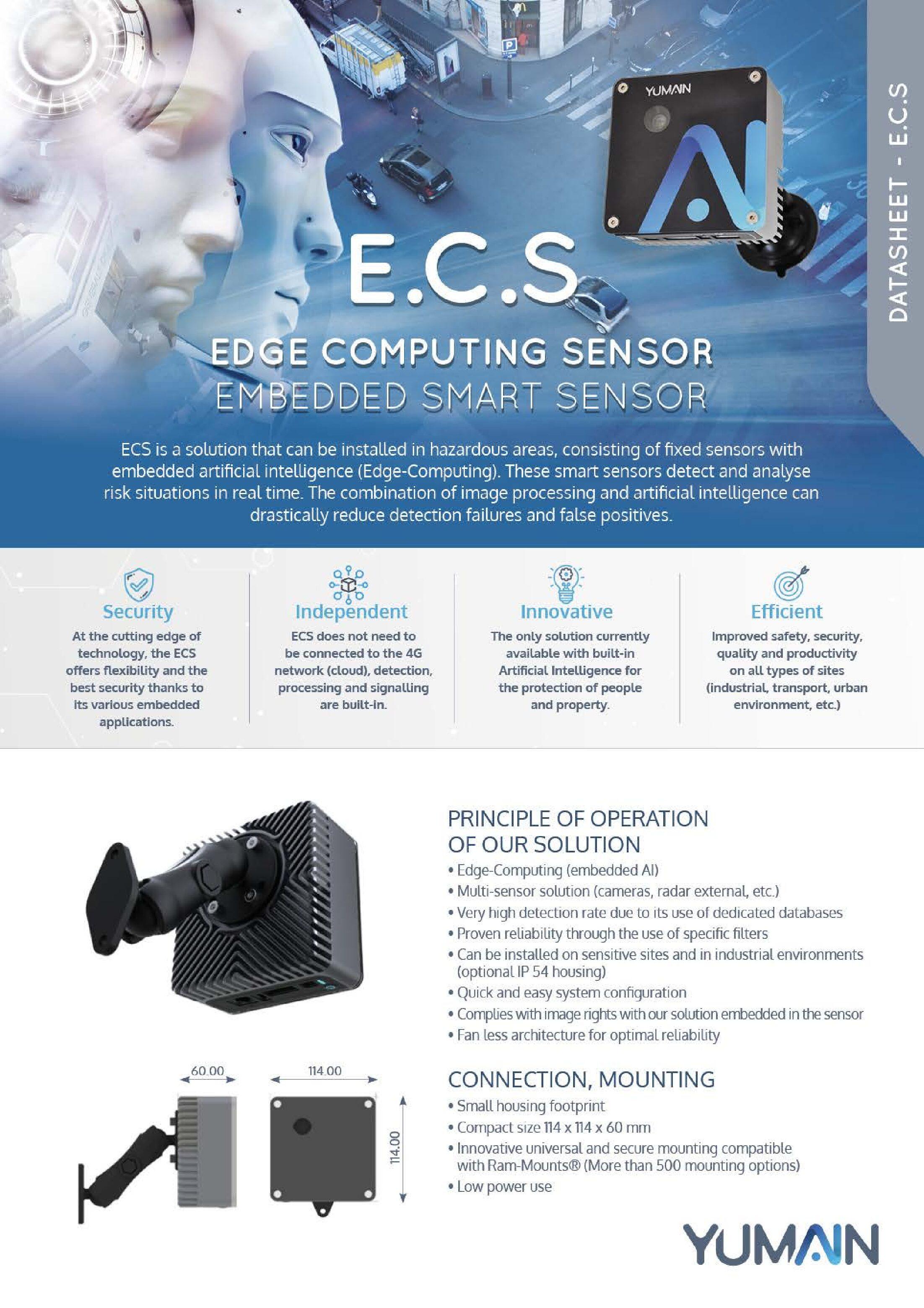 Edge Computing Sensor Data Sheet