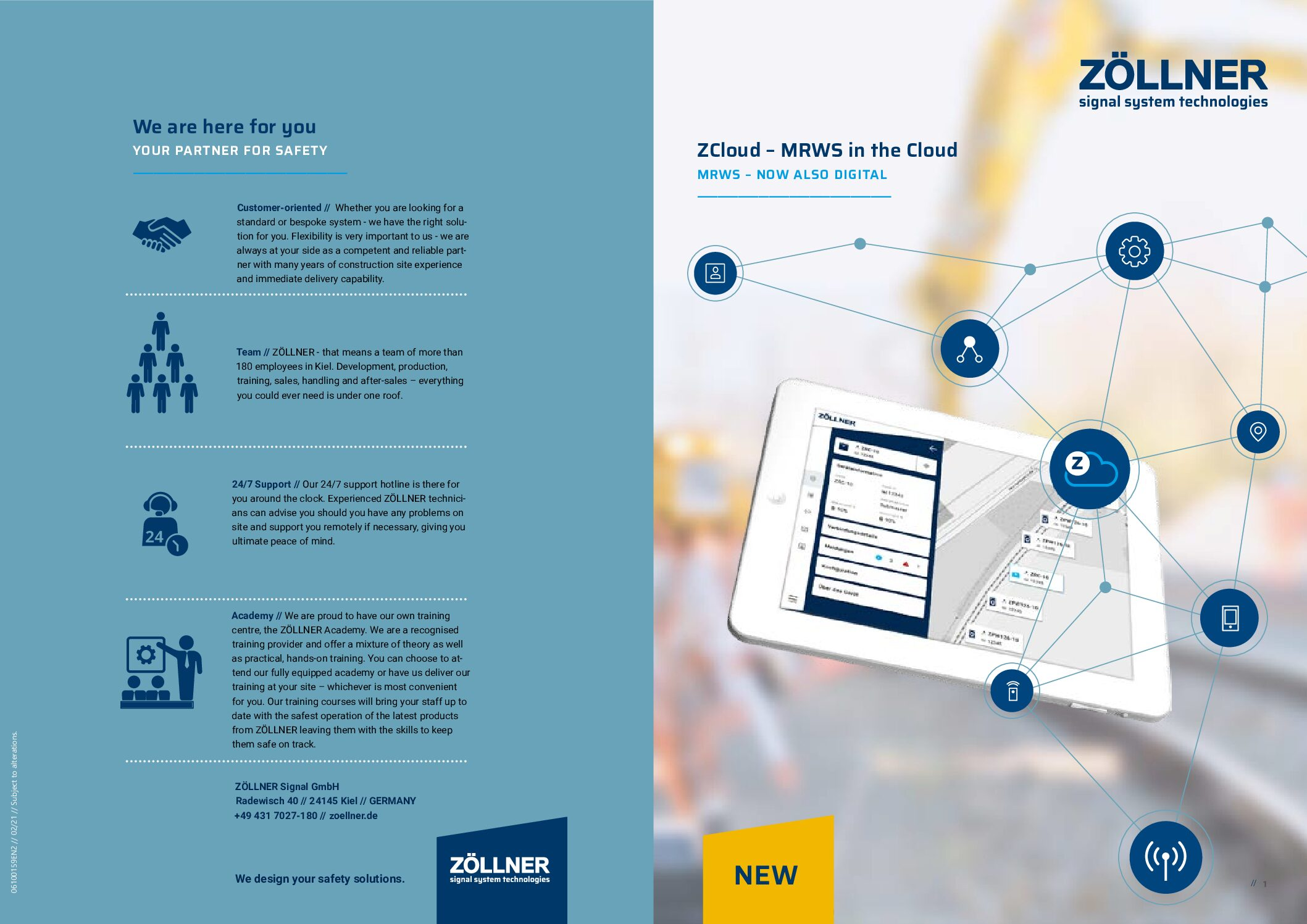 ZCloud – Mobile Radio Warning System (MRWS) in the Cloud
