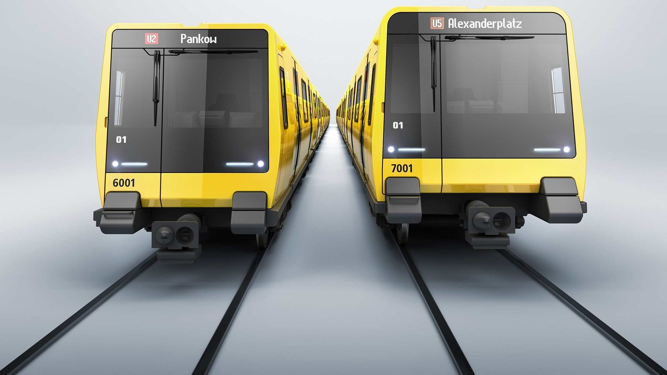 Berlin metro vehicles