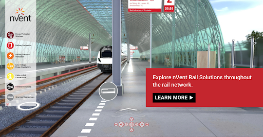 nVent Virtual Rail World
