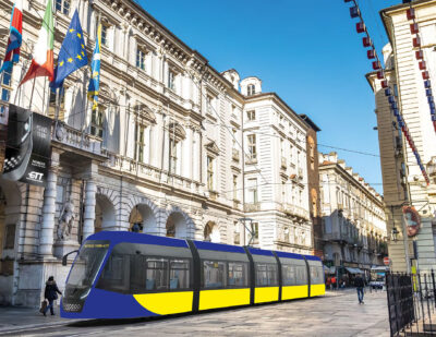 Hitachi Rail Uses Knorr-Bremse for Turin Trams