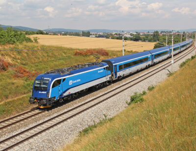 Czech Railways Signs Framework Agreement for 180 Rail Cars