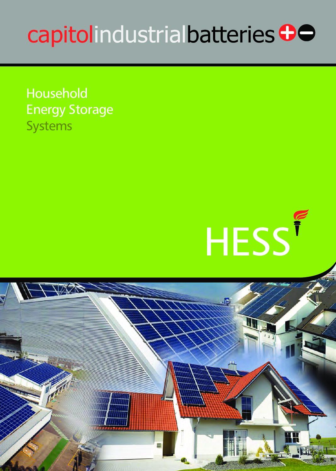 Household Energy Storage System (HESS)