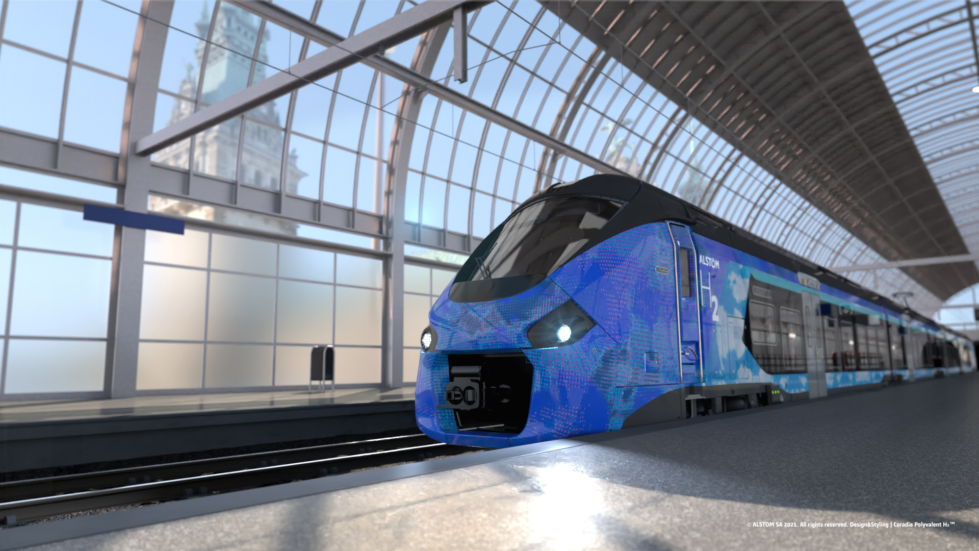 The Alstom Coradia Polyvalent H2 for the French regions