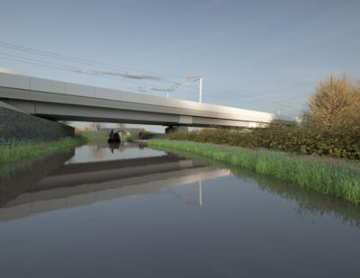 HS2 Presents Oxford Canal Viaduct Design