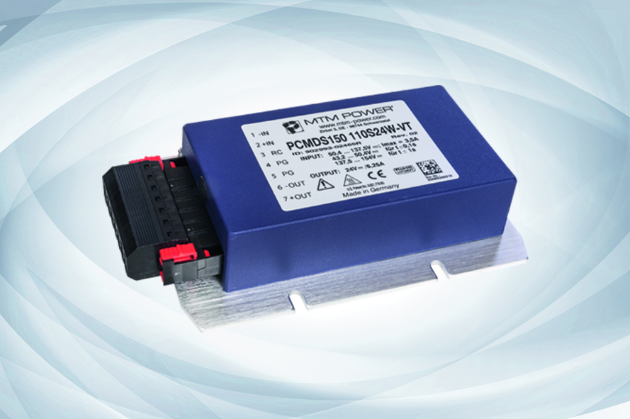 DC/DC Converters PCMDS150 for Rolling Stock Applications