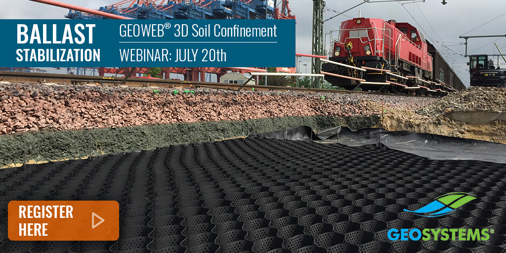 Rail Ballast Stabilization