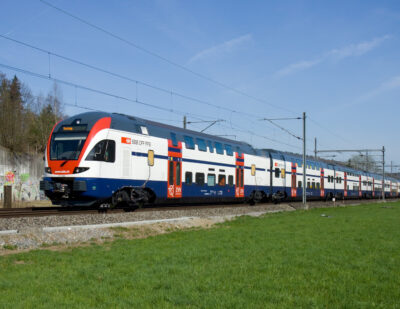 Swiss Federal Railways Orders 60 Double-Decker Trains from Stadler