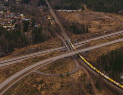 Finland Introduces 7,000 Ton Freight Train