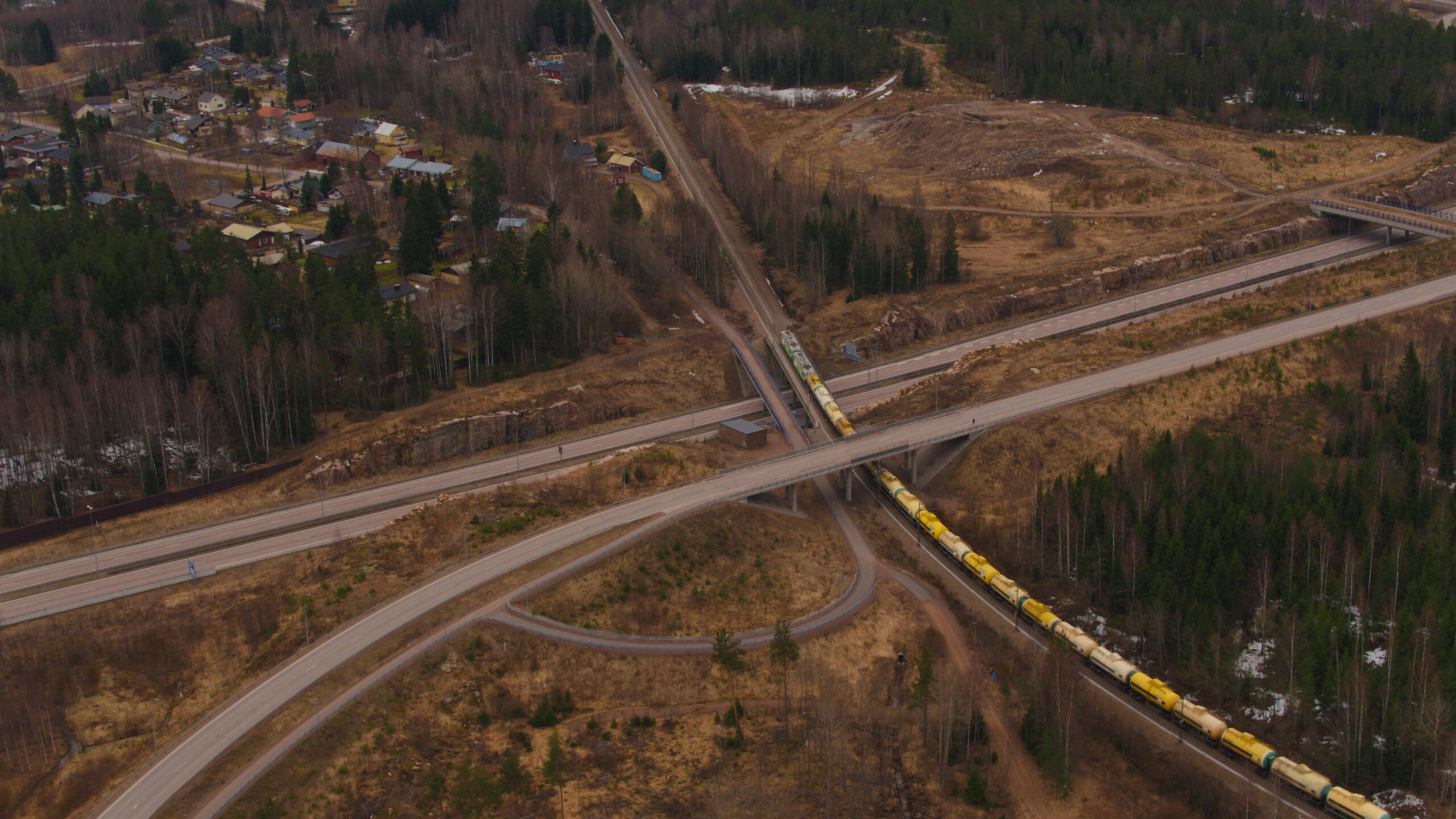 VR Transpoint's 7,000 ton freight train