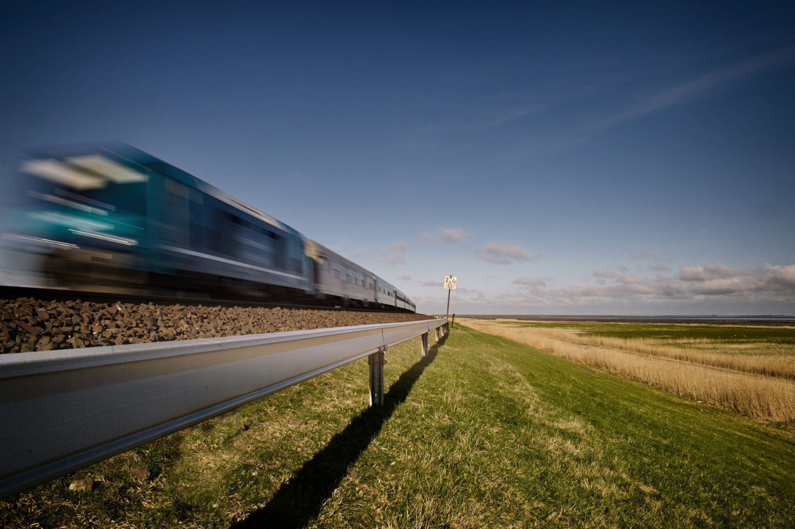 The ARCOSYSTEM post-mounted lineside in Sylt, Germany