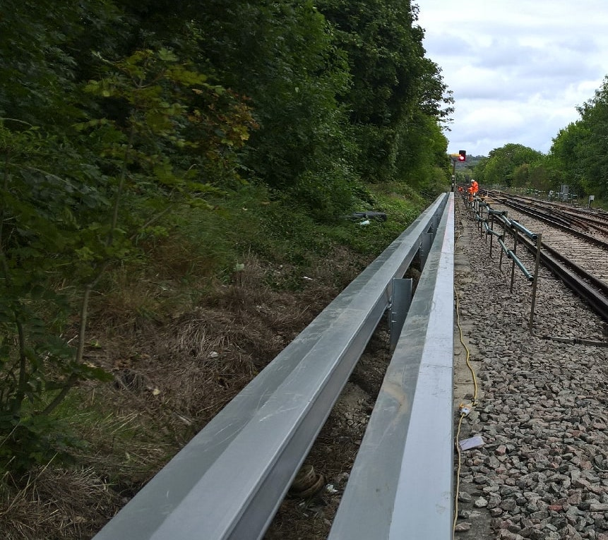 ARCOSYSTEM in place trackside