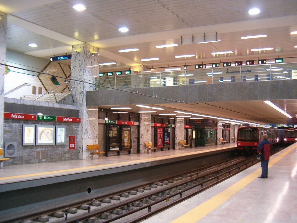 Bella Vista Lisbon Metro station