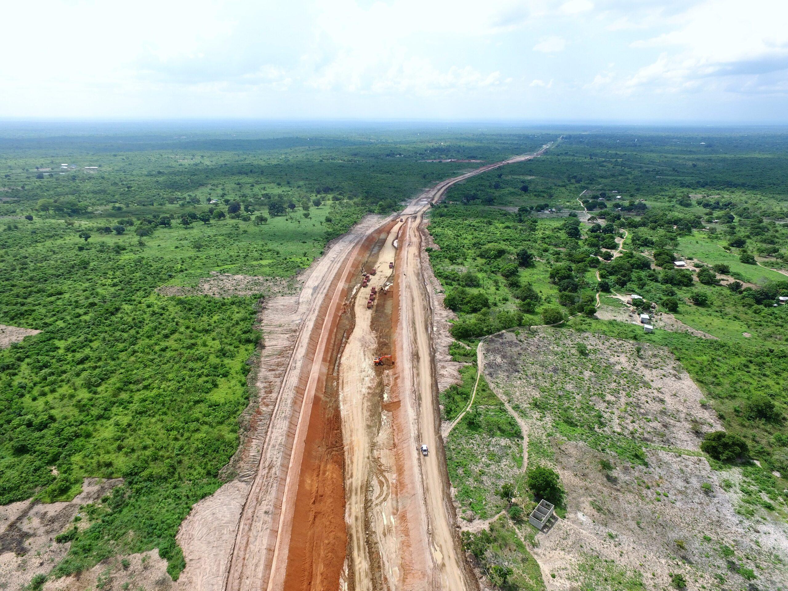 Dar es Salaam - Morogoro - Makutupora Railway Line