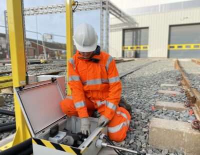 Rail Depots Back FirstClass Safety & Control Expertise