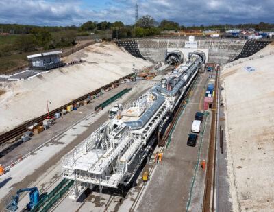 HS2 Launches First Giant Tunnelling Machine