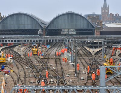 London King's Cross Track Upgrade Reaches Final Stage