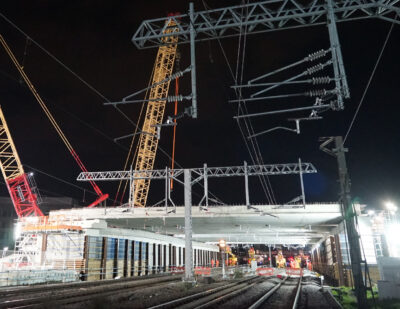 Network Rail Completes Extensive Bank Holiday Upgrades