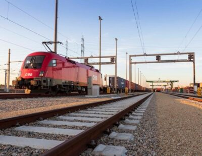 ÖBB Rail Cargo Group Doubles Transport of Goods on New Silk Road
