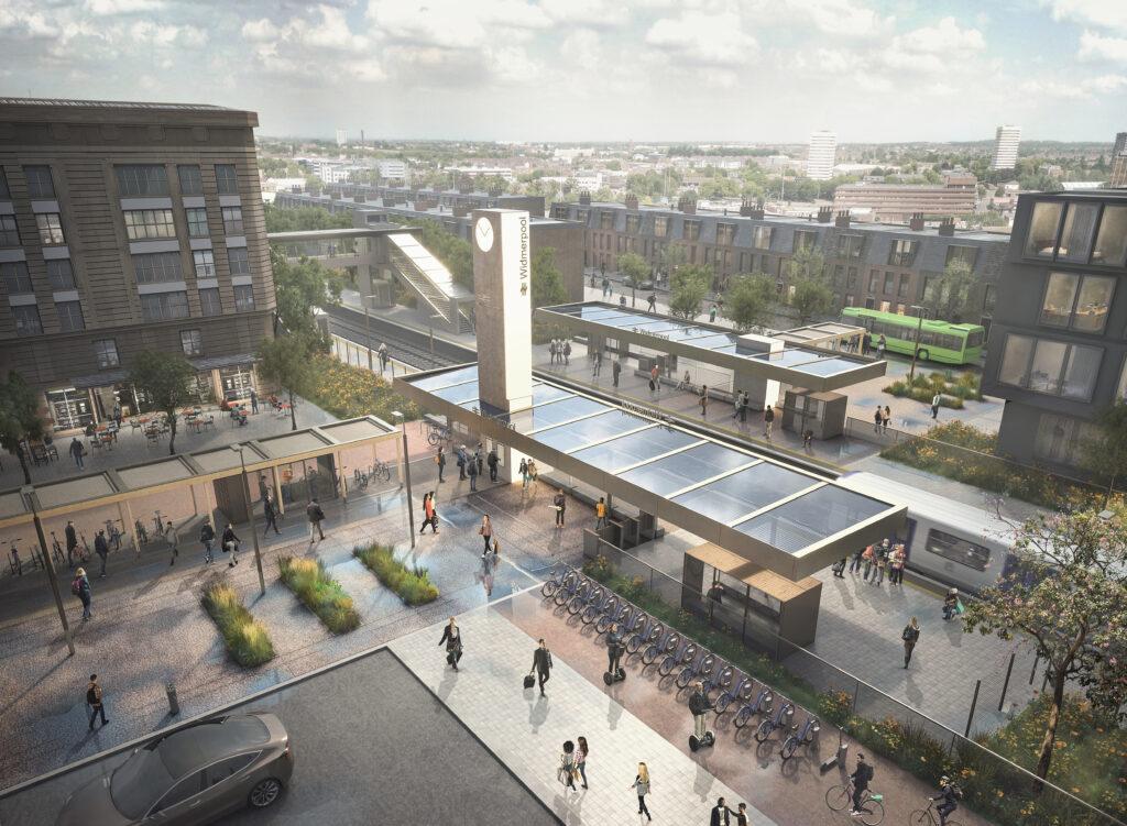 7N Architects' railway station visualisation