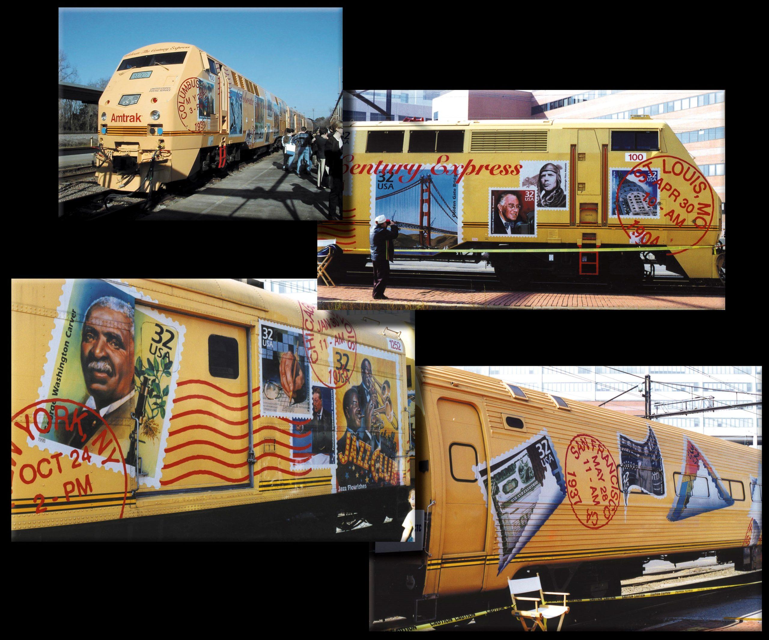 Full wrap for Amtrak