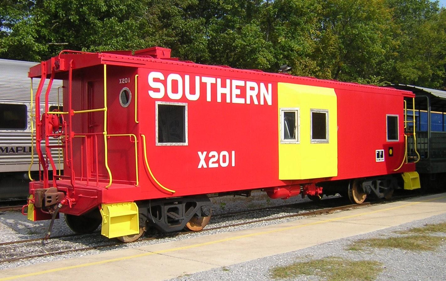 Southern Railway caboose X201