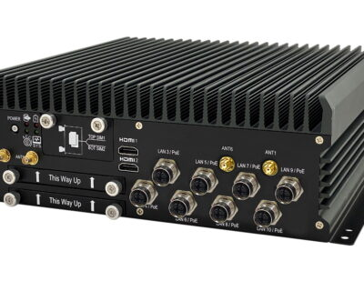 SINTRONES Launches New AI GPU Fanless Rolling Stock Computer