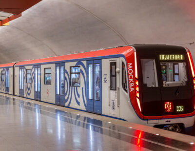 TSL Products in Use in the Spectacular Metro Moscow