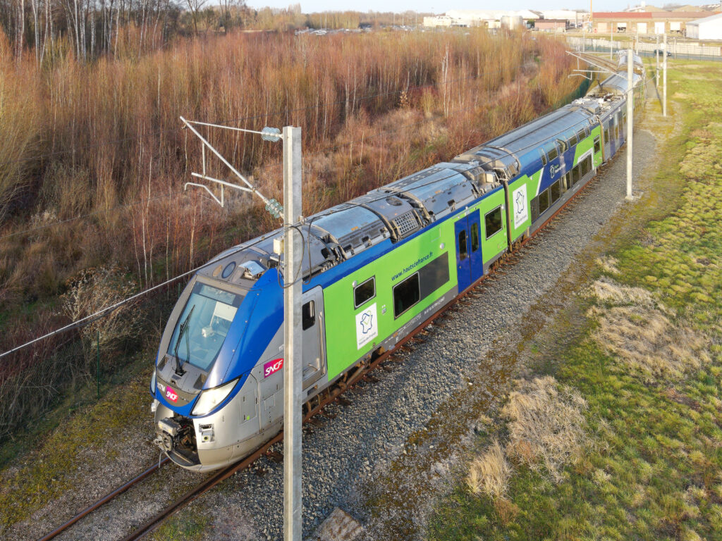 The Regio 2N regional train prototype