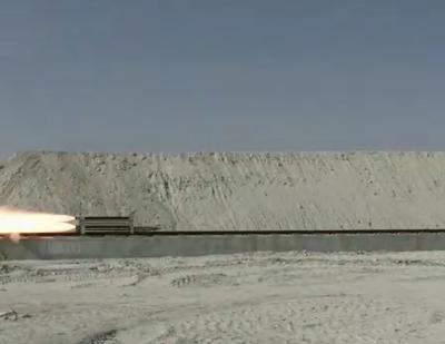Tübitak SAGE Supersonic Sled Test Track by Yapıray