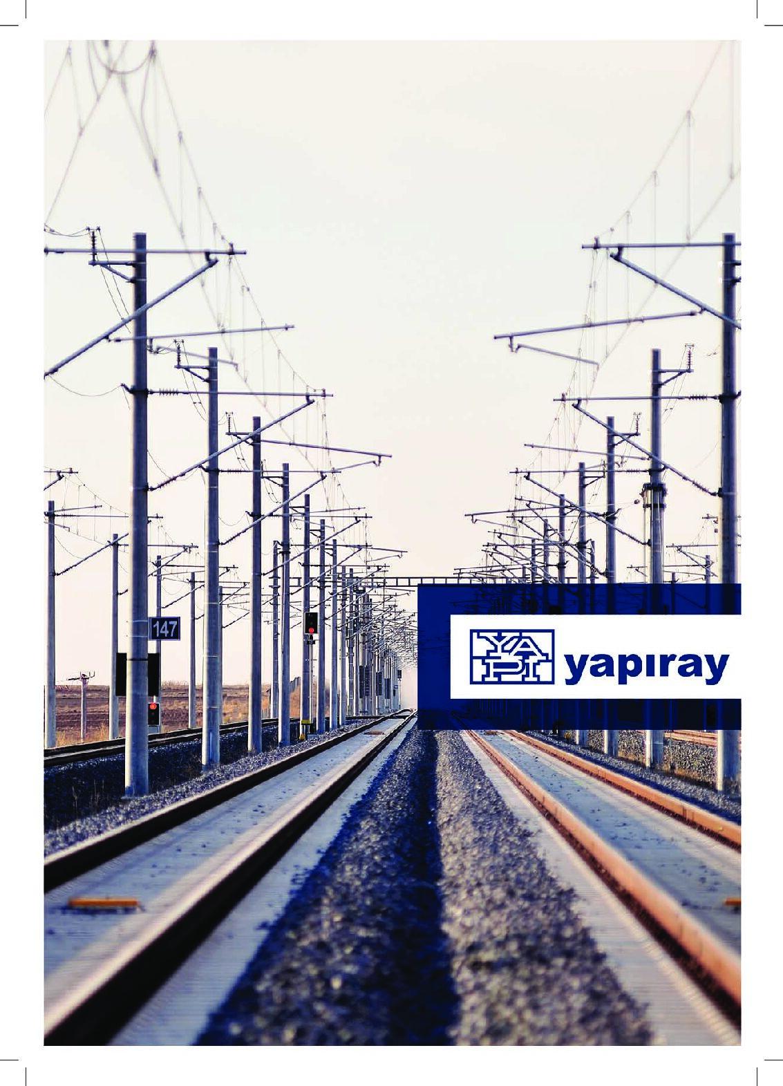About YAPIRAY – Railway Engineering Solutions