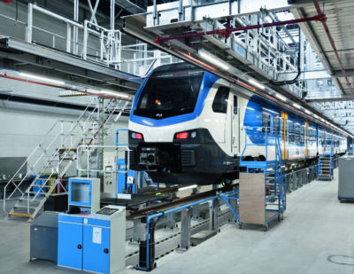 ZARGES Rolling Stock Steps and Platforms