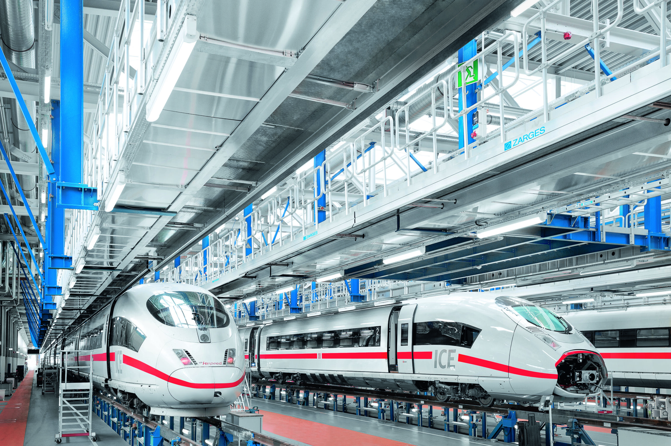 Access solutions for rail vehicles
