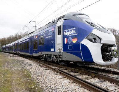 Alstom's First Cross-Border Coradia Polyvalent Train Starts Approval and Certification Tests