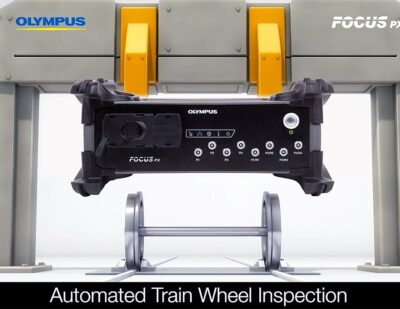 Olympus – Automated Train Wheelset Inspection Using Phased Array