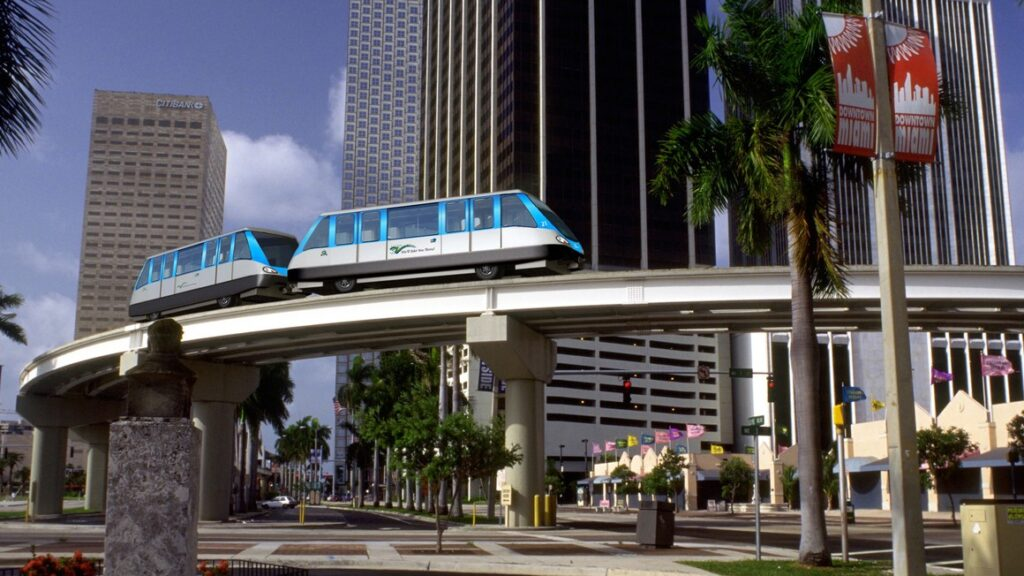 New signalling technology for Metromover APM system in Miami.