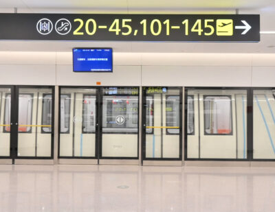 Alstom's Chinese JV Wins Operation and Maintenance Contract for Airport APM