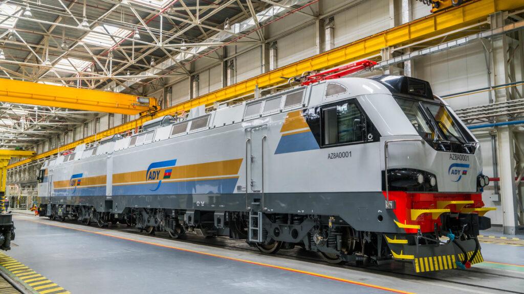 Alstom Prima T8 AZ8A freight locomotive